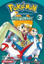 Pokémon Rouge feu et Vert feuille / Emeraude T3, manga chez Kurokawa de Kusaka, Yamamoto