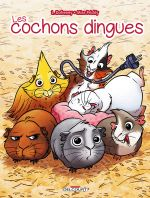 Les Cochons dingues, bd chez Delcourt de Dufreney, Prickly, Paillat