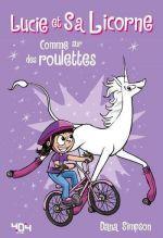 Lucie et sa licorne T2 : Comme sur des roulettes (0), comics chez 404 éditions de Simpson