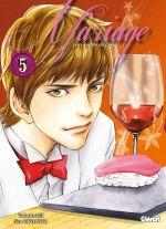 Les Gouttes de dieu - Mariage T5, manga chez Glénat de Agi, Okimoto
