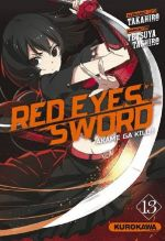 Red eyes sword - akame ga kill ! T13, manga chez Kurokawa de Takahiro, Tashiro