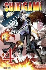 Shikigami T4, manga chez Panini Comics de Iwashiro