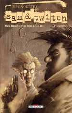 Les enquêtes de Sam et Twitch T1 : Squelettes (0), comics chez Delcourt de Andreyko, Niles, McFarlane, Lee