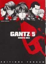 Gantz – 1e edition, T5, manga chez Tonkam de Oku