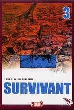 Survivant T3, manga chez Milan de Saïto