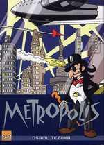 Metropolis, manga chez Taïfu comics de Tezuka