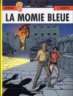 Lefranc T18 : La momie bleue (0), bd chez Casterman de Weber, Martin, Carin