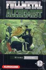 Fullmetal Alchemist T12, manga chez Kurokawa de Arakawa