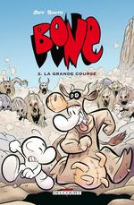 Bone – Edition couleur, T2 : La grande course (0), comics chez Delcourt de Smith, Hamaker
