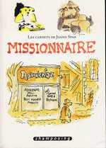 Les Carnets de Joann Sfar T2 : Missionnaire (0), bd chez Delcourt de Sfar
