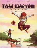 Les aventures de Tom Sawyer T1, bd chez Delcourt de Voulyzé, Morvan, Lefèbvre