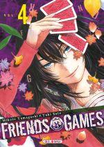 Friends games  T4, manga chez Soleil de Yamaguchi, Yûki