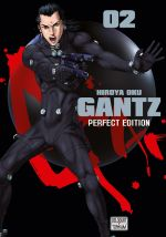 Gantz – Perfect edition, T2, manga chez Delcourt Tonkam de Oku
