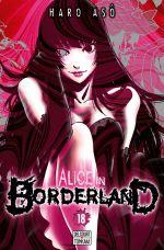 Alice in borderland T18, manga chez Delcourt Tonkam de Haro