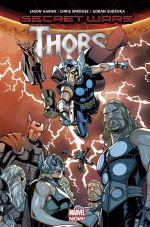 Secret Wars - Thors, comics chez Panini Comics de Aaron, Sudzuka, Sprouse, Gracia, Silva