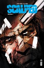 Scalped T3, comics chez Urban Comics de Aaron, Furno, Francavilla, R.M. Guéra, Brusco