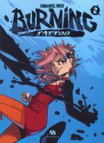 Burning Tattoo T2, manga chez Ankama de Nhieu