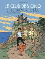 Le Club des cinq T1 : et le trésor de l'île (0), bd chez Hachette de Nataël, Béja