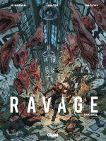 Ravage T2, bd chez Glénat de Morvan, Macutay, Walter