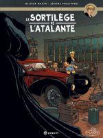 Les Aventures de Betsy T1 : Le sortilège de l'Atalante (0), bd chez Paquet de Marin, Jérôme, Alquier