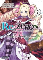 Re:Zero – 2e arc : une semaine au manoir, T2, manga chez Ototo de Nagatsuki, Matsuse