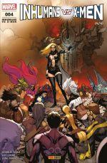 Inhumans vs X-Men T4, comics chez Panini Comics de Soule, Lemire, Balak, Yu, Alanguilan, Mossa, Curiel