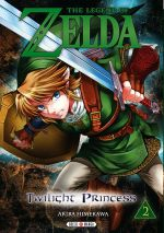 The legend of Zelda - Twilight princess T2, manga chez Soleil de Himekawa