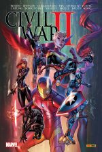 Civil War II, comics chez Panini Comics de Bendis, Easton, Spencer, Pak, Guggenheim, Noto, Marquez, Bachs, Davidson, Shalvey, Cheung, Bagley, Sorrentino, Coipel, Ponsor, Crossley, Campbell