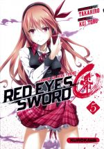 Red eyes sword - akame ga kill ! Zero  T5, manga chez Kurokawa de Takahiro, Toru