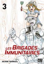 Les brigades immunitaires T3, manga chez Pika de Akane