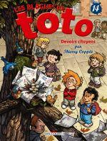 Les blagues de Toto T14, bd chez Delcourt de Coppée, Lorien