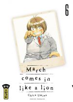 March comes in a like a lion T6, manga chez Kana de Chica