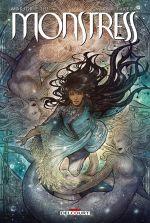 Monstress T2 : La quête (0), comics chez Delcourt de Liu, Takeda