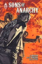 Sons of anarchy T4, comics chez Ankama de Brisson, Bergara, Spicer