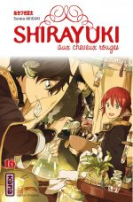 Shirayuki aux cheveux rouges T16, manga chez Kana de Akizuki
