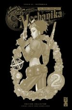 Lady Mechanika T2 : La tablette des destinées (0), comics chez Glénat de Chen, Benitez, Montiel, Garcia
