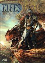 Elfes – cycle Les elfes noirs, T20 : Noirs d'écailles (0), bd chez Soleil de Hadrien, Dimat, Héban