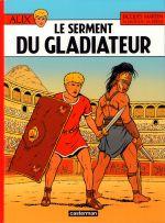 Alix T36 : Le serment du gladiateur (0), bd chez Casterman de Breda, Jailloux, Pleyers