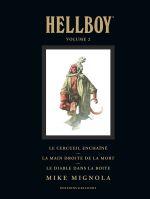 Hellboy T2, comics chez Delcourt de Mignola, Hollingsworth, Sinclair, Stewart