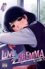 Love x dilemma T8, manga chez Delcourt Tonkam de Sasuga