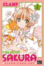 Card Captor Sakura - Clear card arc T1, manga chez Pika de Clamp