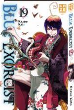 Blue exorcist T19, manga chez Kazé manga de Kato