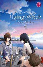 Flying witch  T4, manga chez Nobi Nobi! de Ishizuka