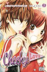 Cheeky love T5, manga chez Delcourt Tonkam de Mitsubachi