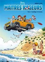 Les maîtres nageurs T2 : Coquillages et Crustacés (0), bd chez Bamboo de Reynes, Brrémaud, Cosson
