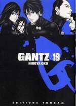 Gantz – 1e edition, T19, manga chez Tonkam de Oku