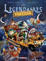 Les Légendaires -Parodia T3 : Gagastrophique ! (0), bd chez Delcourt de Jung, Sobral