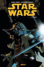 Star Wars T5 : La guerre secrète de Yoda (0), comics chez Panini Comics de Aaron, Larroca, Delgado, Immonen