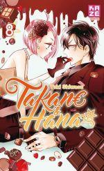 Takane & Hana T8, manga chez Kazé manga de Shiwasu