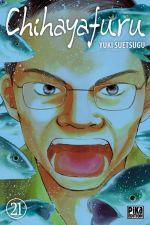 Chihayafuru T21, manga chez Pika de Suetsugu